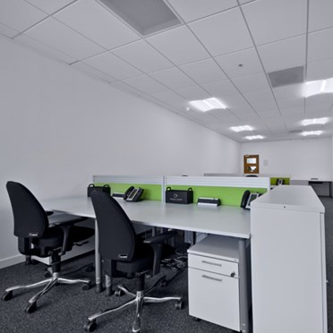 Office space in Luminous House, 300 South Row